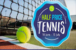 Half price tennis at Aldersley