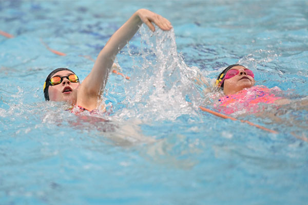 Free public swim sessions for under 17s